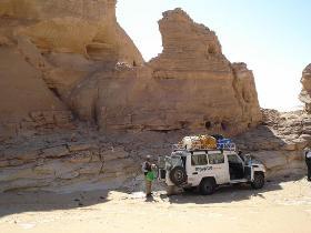 16-tägige Expedition zu einem der letzten weißen Flecken auf der Landkarte - zu den fossilen Walknochen im Wadi Heitan